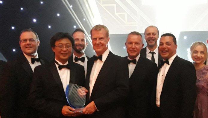 YOKOHAMA βραβείο NTDA Tyre Manufacturer of the Year