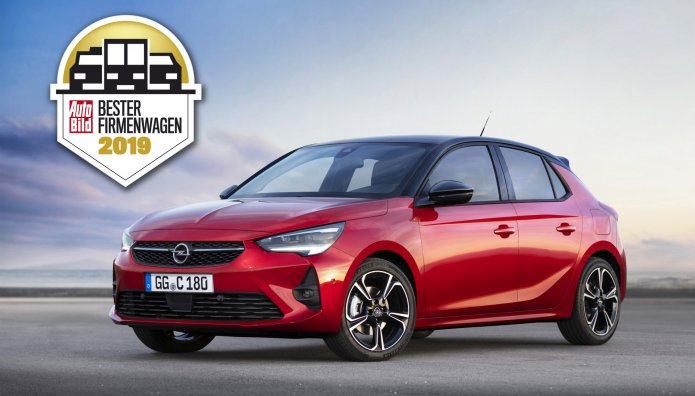 Opel Corsa Company Car Of The Year