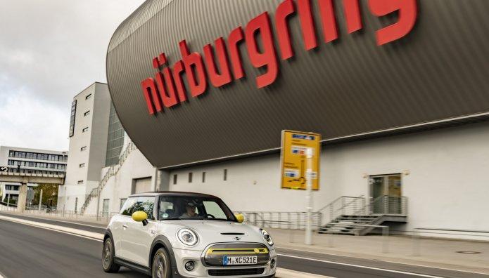 MINI Cooper SE North Loop Nürburgring  «Πράσινη Κόλαση»