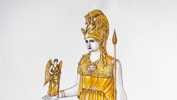 άγαλμα Αθηνάς Παρθένου