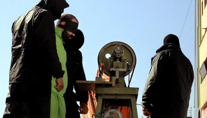 Ακρωτηριασμός άνδρα στο Ιράν το 2013