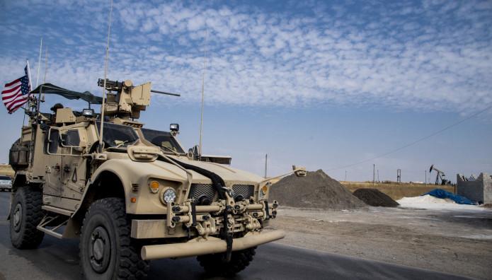 στρατιωτικό τζιπ των ΗΠΑ στη Συρία