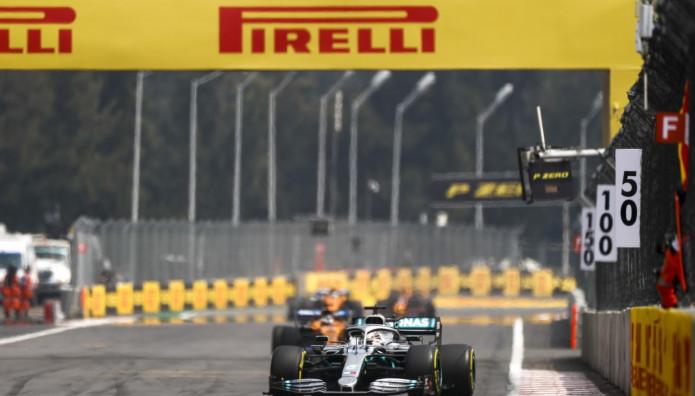Lewis Hamilton Μεξικάνικο Grand PrixPirelli