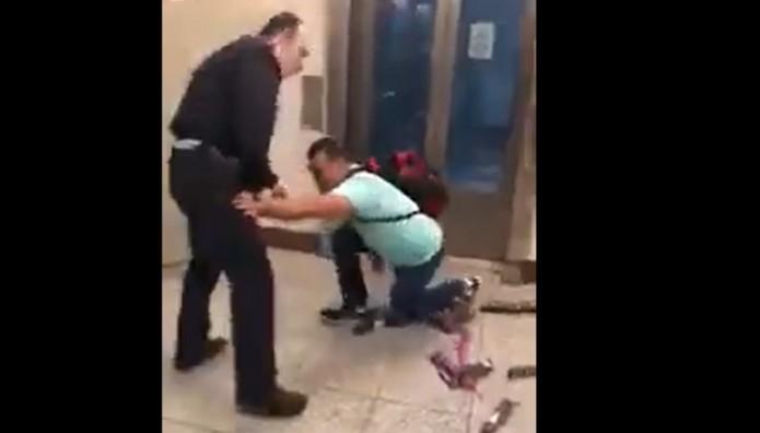 στιγμιότυπο από τη σύλληψη