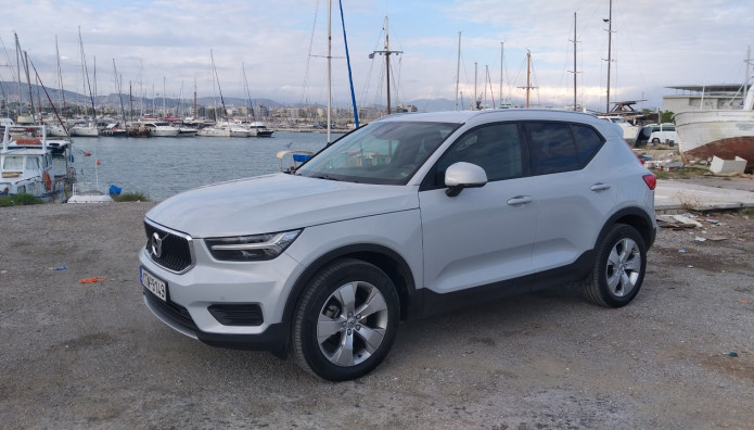 Volvo XC 40 D3 Geartronic Δοκιμή