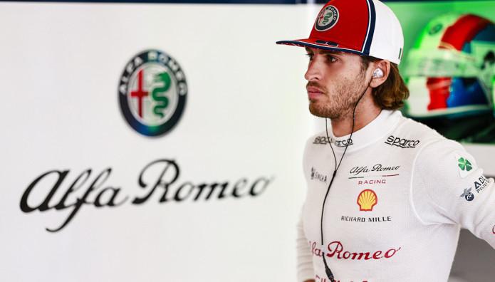 Alfa Romeo Racing Antonio Gioviazzi