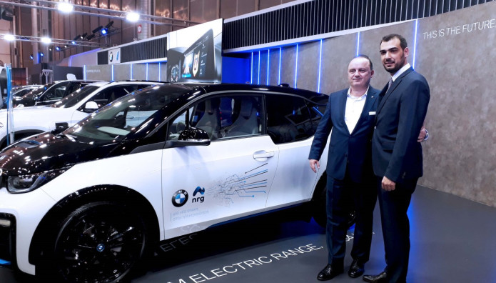nrg BMW Group Hellas πρατήρια Shell  AVIN ταχυφορτιστές Terra 54 High Volta