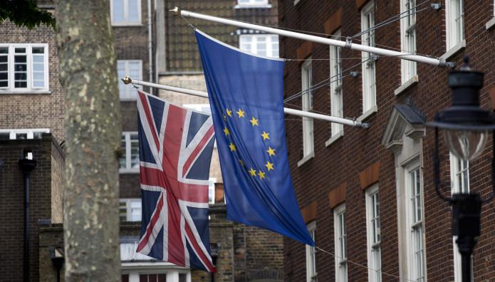 Σημαία Βρετανίας, Σημαία Ε.Ε.