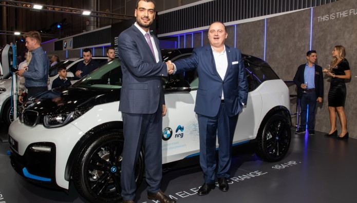 nrg  BMW Συνεργασία Ηλεκτροκίνηση