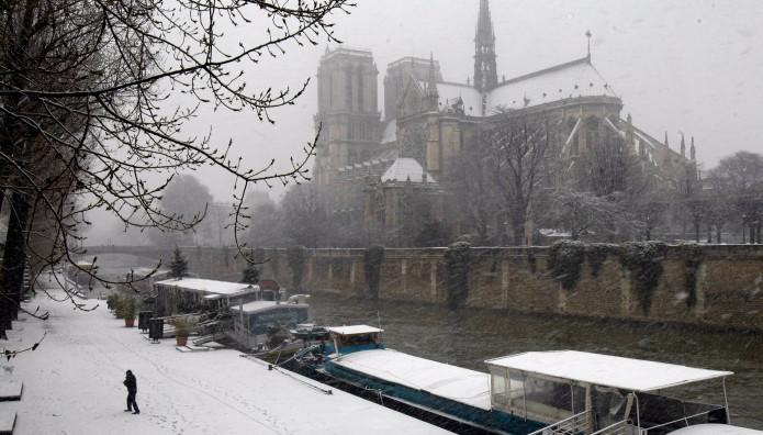 Χιόνι στη Γαλλία