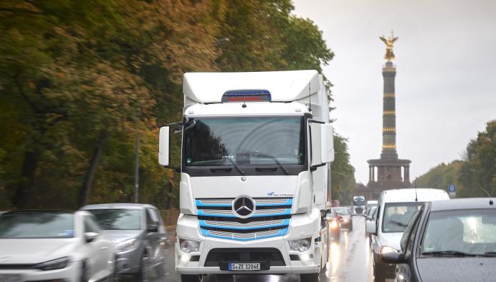 Mercedes Φορτηγά Ηλεκτρικά