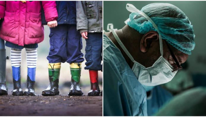 χειρουργός και παιδιά