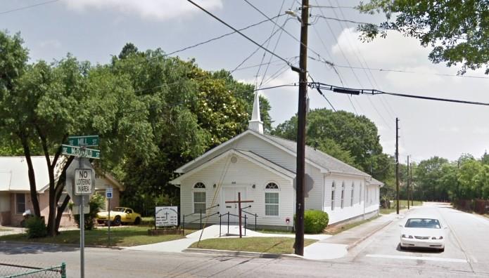 η εκκλησία που θα γινόταν η επίθεση