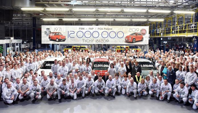 Fiat Tychi 12.000.000 Οχήματα