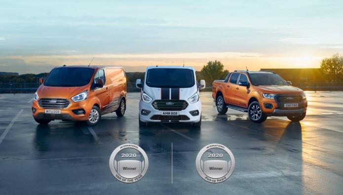 "Ford Transit ""International Van of the Year"" Ranger ""International Pick-up"