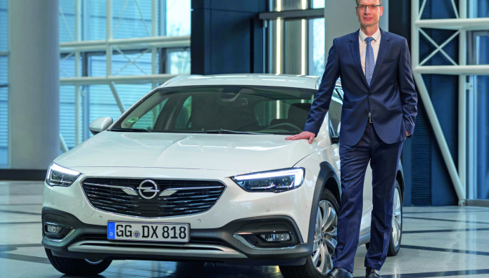 """Opel Michael Lohscheller  """"Manager of the Year 2019"""""""
