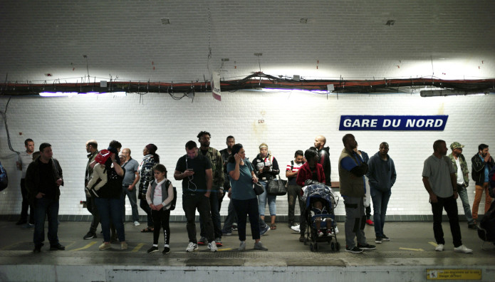 εκκένωση σιδηροδρομικού σταθμού Παρίσι