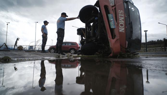 τυφώνας Καμούρι Φιλιππίνες