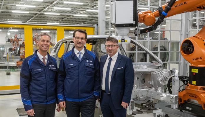 BMW iNEXT εργοστάσιο Dingolfing επένδυση