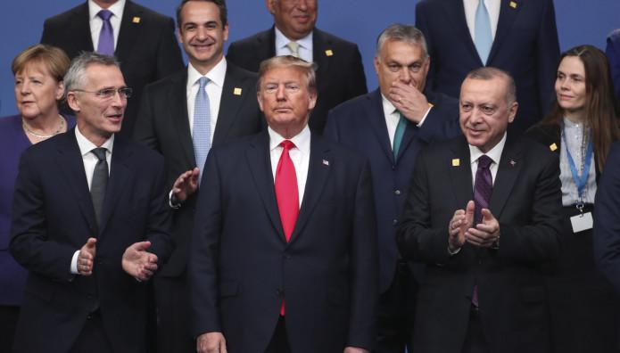 Σύνοδος ΝΑΤΟ- Τραμπ, Ερντογάν, Μητσοτάκης