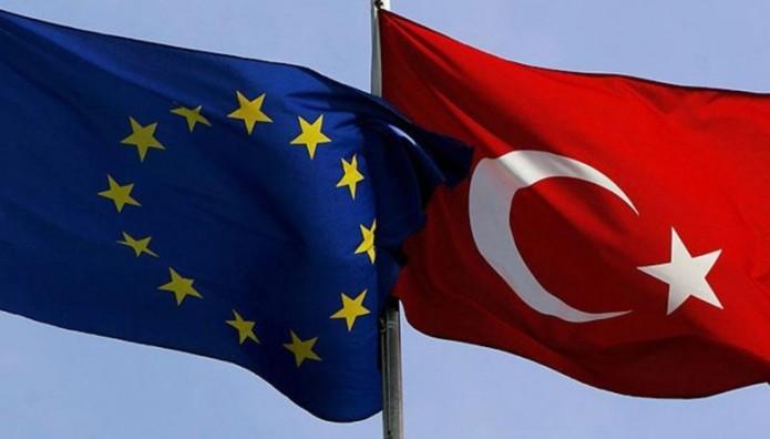 Τουρκία ΕΕ σημαίες