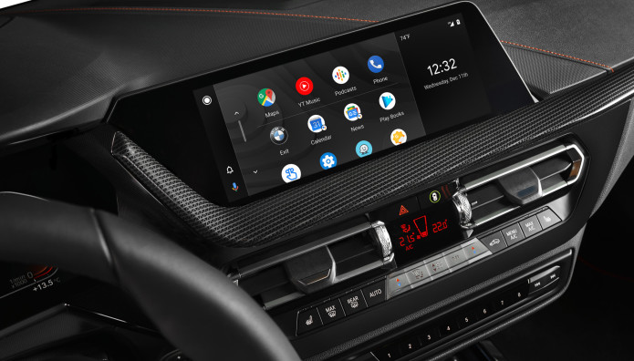 BMW Android Auto Google Assistant