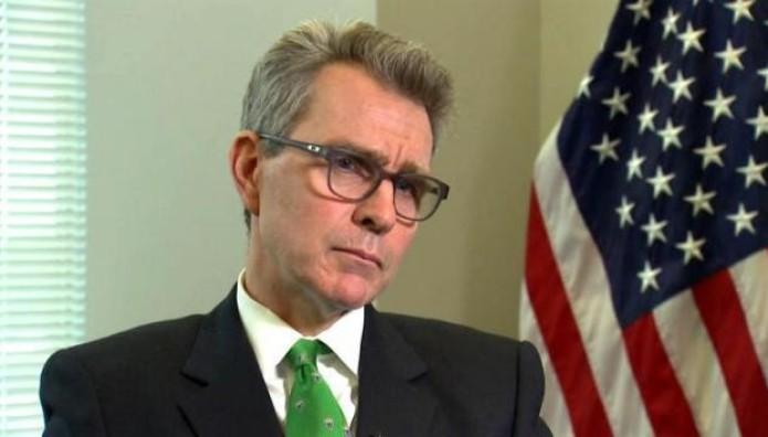 Τζέφρι Πάιατ πρέσβης ΗΠΑ