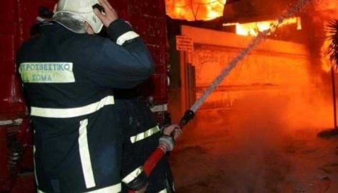 Πυρκαγιά πυριοσβέστες