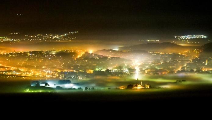Αιθαλομίχλη στα Ιωάννινα