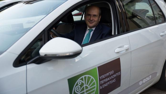 VW e-Golf Υπουργείο Περιβάλλοντος και Ενέργειας