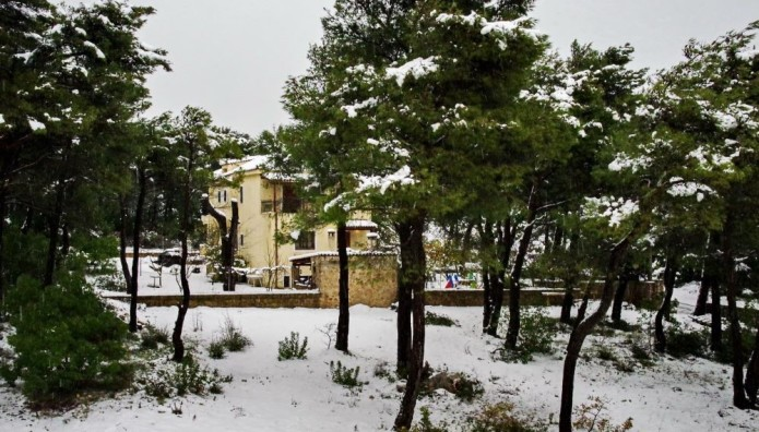 Χιόνι Ιπποκράτειος Πολιτεία