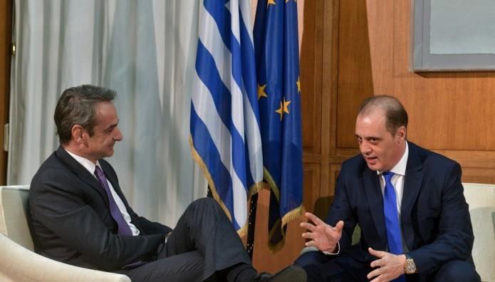 Κυριάκος Μητσοτάκης Κυριάκος Βελόπουλος