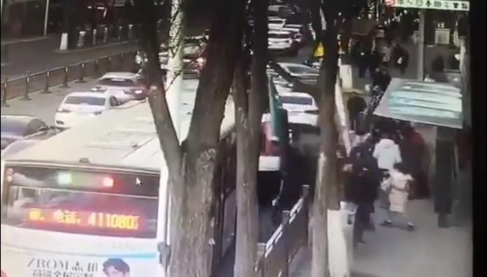 Στιγμιότυπο από το δυστύχημα