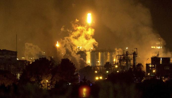 έκρηξη σε χημικό εργοστάσιο
