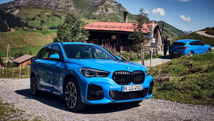 BMW X1 xDrive25e BMW X2 xDrive25e