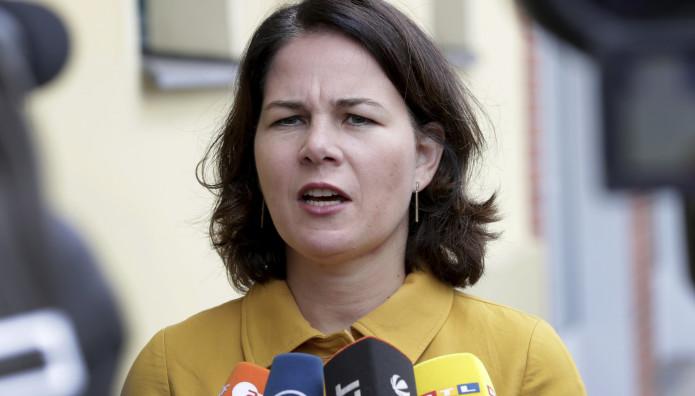η επικεφαλής του κόμματος των Πρασίνων Ανναλένα Μπέρμποκ