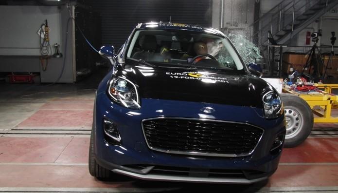 Ford Puma δοκιμές  Euro NCAP