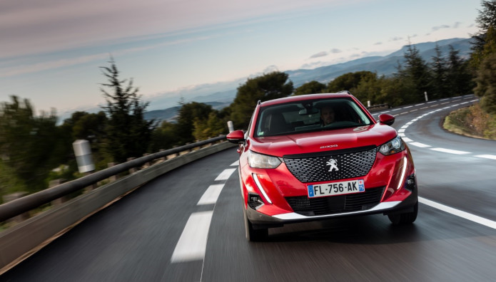 Peugeot 2008 καλύτερο εταιρικό αυτοκίνητο