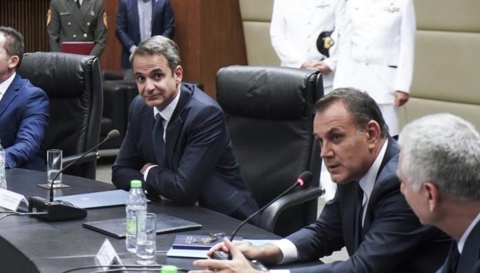 Μητσοτάκης και Παναγιωτόπουλος
