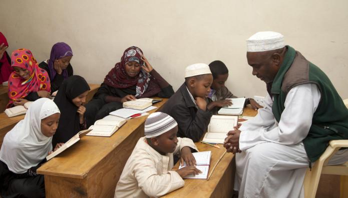 μαθητές σε σχολείο στην κένυα