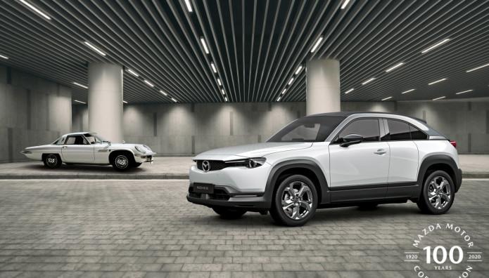 Mazda 100 χρόνια μοντέλα