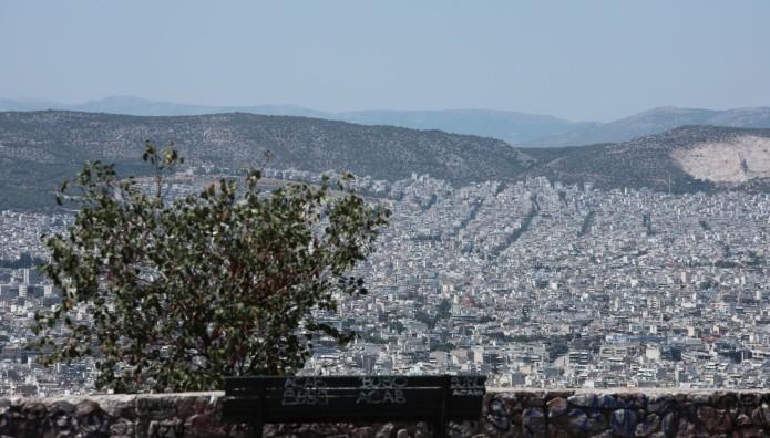 Αθήνα θέα από ψηλά