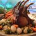 Χοιρινό καρέ στο φούρνο με Ανοιξιάτικα λαχανικά