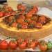 Αλμυρό κέικ με κιμά και τοματίνια