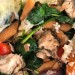 Ζυμαρικά Φακής Με Κοτόπουλο Και Λαχανικά Στον Φούρνο